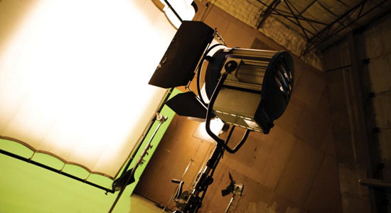 Camera equipment, production equipment, film sets or outside broadcast trucks.